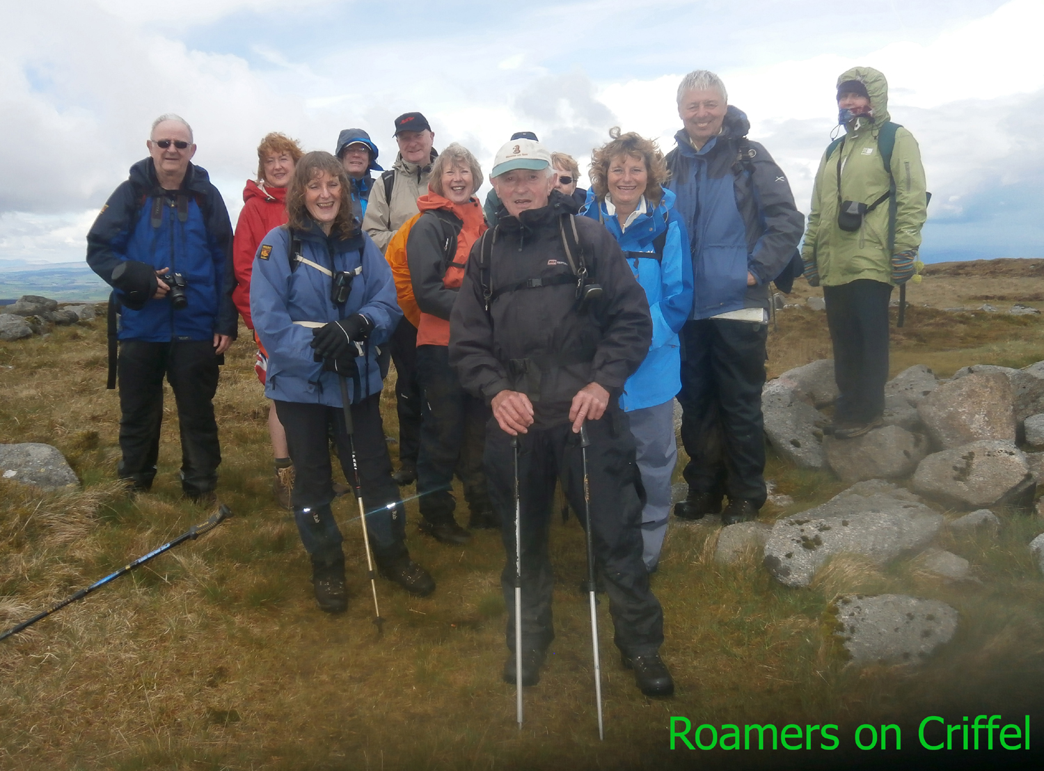 Roamers on Criffel pic