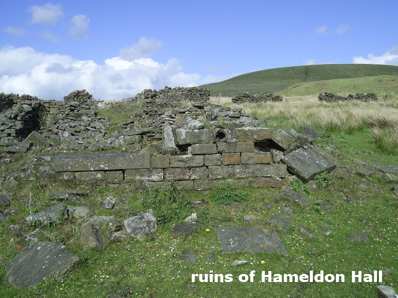 ruins of Hameldon Hall