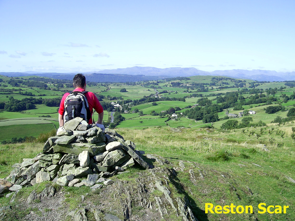 Brendan on Reston Scar pic